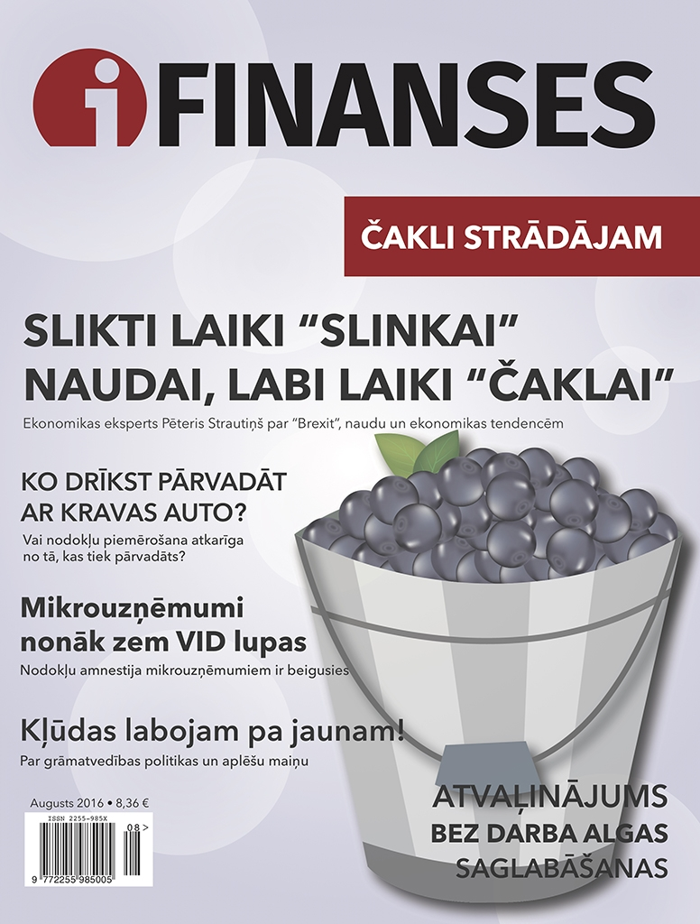 iFinanses augusts 2016